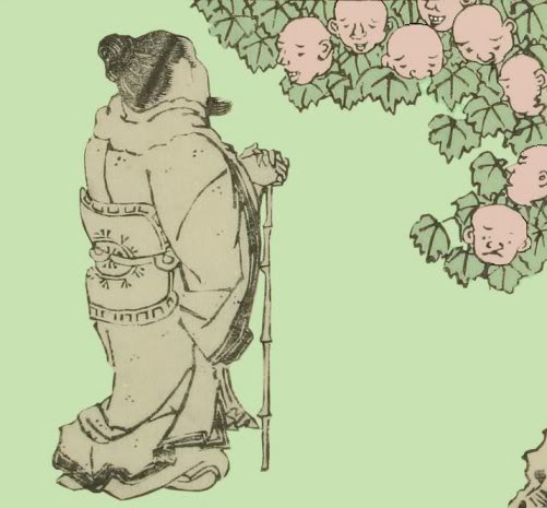 Kuniyasu_Jinmenju_tree_w_heads4