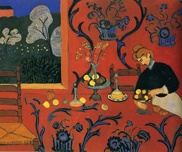Matisse, Harmony in Red (The Dessert), 180x220cm